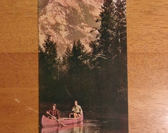 """1941 Summer MENTHOLOGY Booklet (4x9"""" 12 pages)"""