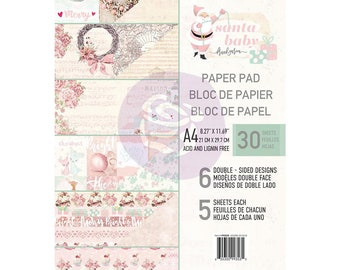 Pre OrderPrima Marketing Double-Sided Paper Pad A4 30/Pkg Santa Baby - 993535  Pre Order 20% Off