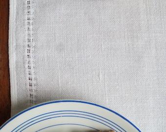 Vintage Swedish Linens: Tiny Windowpane