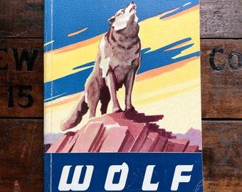 Wolf Cub Scout Book ~ 1958 ~ Vintage Boy Scouts ~ Unused