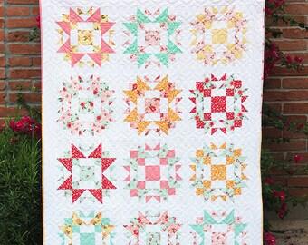 Prairie Waltz Quilt Pattern-PDF