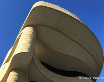 Museum of the American Indian Architecture Against Blue Sky High Resolution Photography Digital Download Washington DC