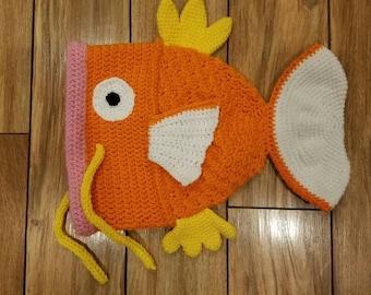 Pokemon Magikarp Crochet Hat