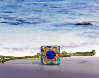 Wax Bracelet-Glass bead-bracelet-surfer-beach-outdoor-yoga-fitness-pearl-unisex-Silvana-beach-Jewelry-Beach Poems