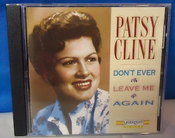 "040218 06 Used Patsy Cline ""Don't Ever Leave Me Again"" CD Laserlight 15 409"