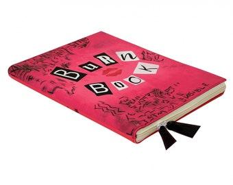 """13"""" Macbook Air Case Burn Book Laptop Case Vintage Book Case Pink Case Macbook Air 13 inch case 13 macbook sleeve 2013 macbook air 13 sleeve"""