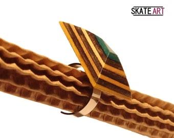 Skate & steel ring