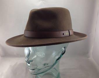 Vintage Olive Green Pendleton Fedora Style Hat  Style AB202-70027 Size Medium   01534