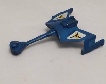 1979 Dinky Toys Klingon Cruiser Miniature Steel Toy - Made in England - Star Trek, Trekkie, Miniature Toys, Die Cast Toys