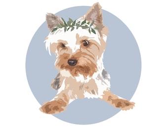 Custom Pet Portrait - Graphic Design