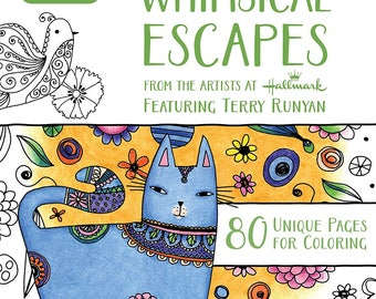 Crayola WHIMSICAL ESCAPES Adult Coloring Book
