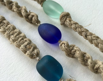 Custom Sea Glass Pebble Choker