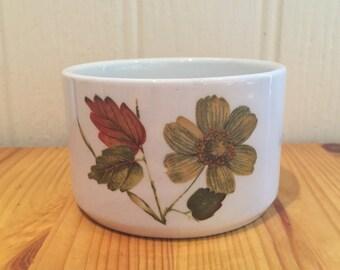 Vintage mid century Alfred Meakin Sugar Bowl