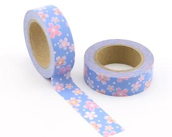 Japanese Sakura Washi Tape - Craft Supplies - Scrapbooking - Planner Stickers - Erin Condren - Bujo Planner - Bible Journaling Love My Tapes