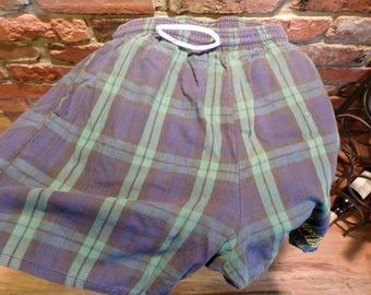 Vintage Olympia Beer Shorts, Vintage Beer shorts, 1986 Olympia beer shorts, 1980's prop