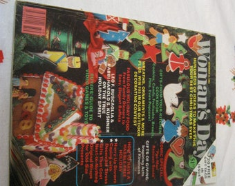 1983 womans day magazine december issue