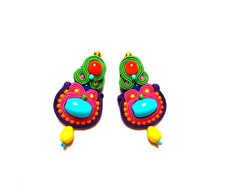 Soutache Earrings - Wilhelmina