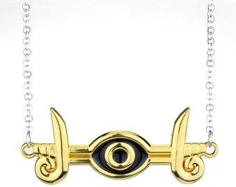 Yugioh Millenium Eye Of Horus Necklace Pendant Cosplay replica jewelry / jewellery Yu-Gi-Oh Seto
