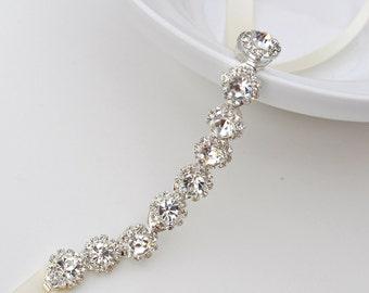 bridesmaid bracelet, Crystal bracelet, Bridal bracelet, Bridesmaid gift, Wedding bracelet, bridal accessories, accessory, wedding, bridal