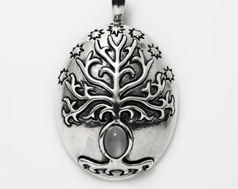 White Tree Pendant