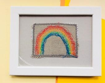 Rainbow in frame