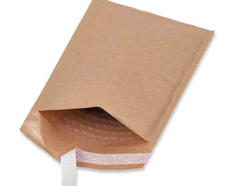 10 Mailers #0 6.5x10 Bubble Mailer Kraft Paper Bubble Mailer Very Lightweight Padded Envelopes Self Sealing Bubble Envelopes Paper Mailers