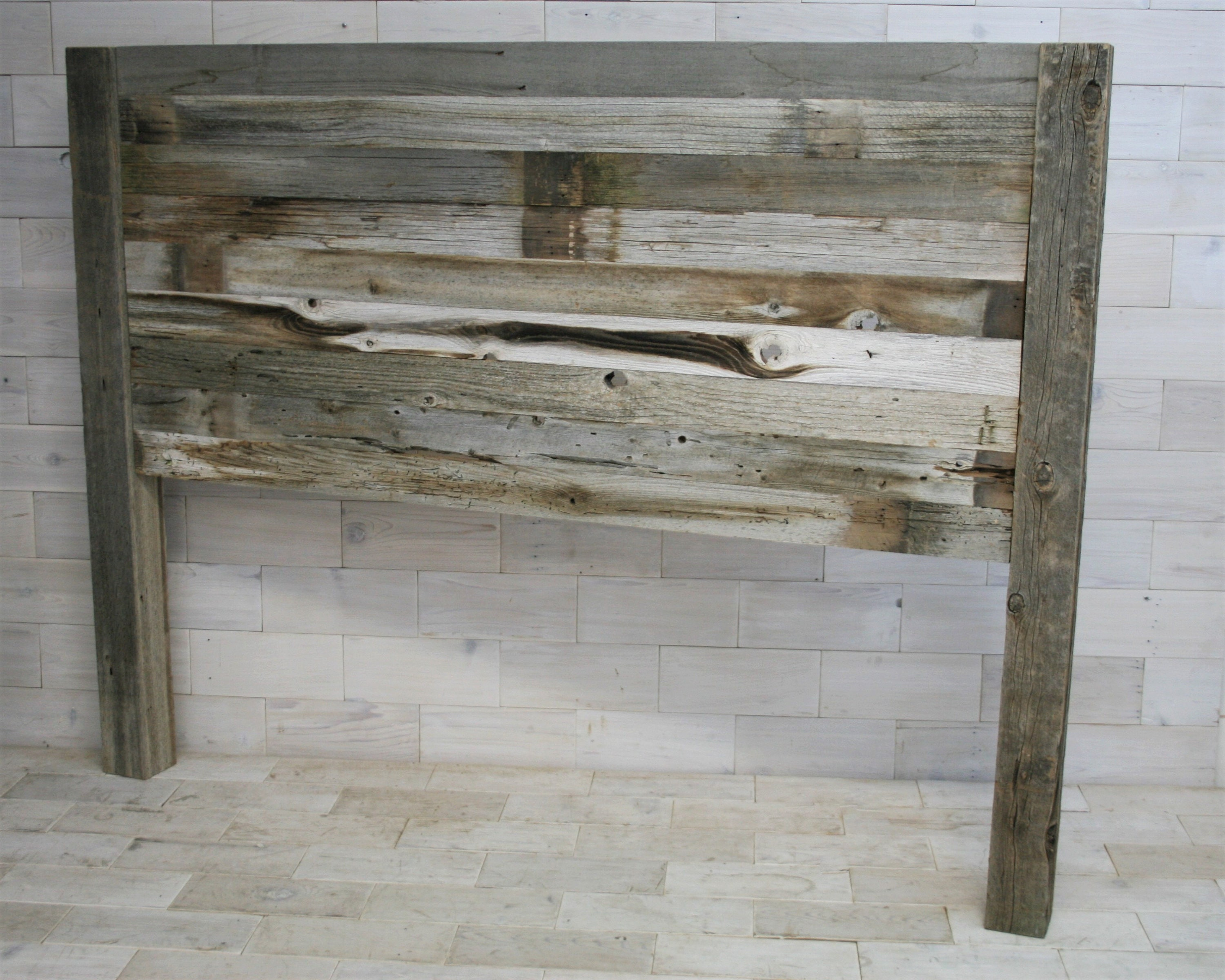 rustic pin art wood headboard white wooden grey black bedroom driftwood in headboards