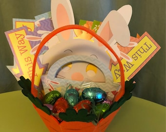 Easter egg hunt basket