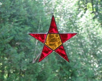 Stained Glass Star #37