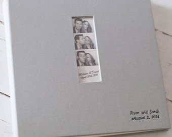 Photo Booth Album, Photo Album Guest Book Album by Claire Magnolia