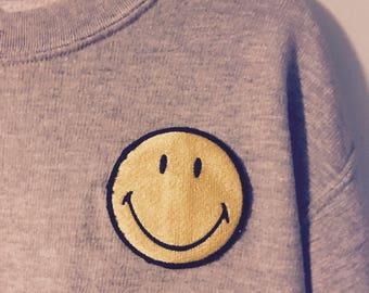 Custom Smiley Sweatshirt