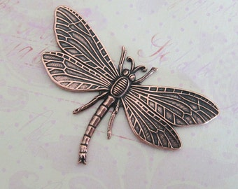 NEW Large COPPER Dragonfly Finding 1358C