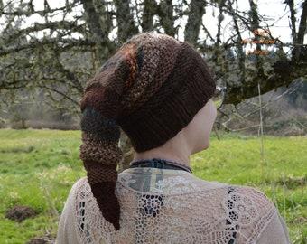 Chapeau de lutin - Bandicoot - pointu tricoté ferraille fil Beanie - prêt à être expédier
