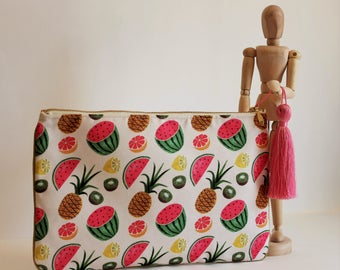 Watermelon Design (with Gold Lining)