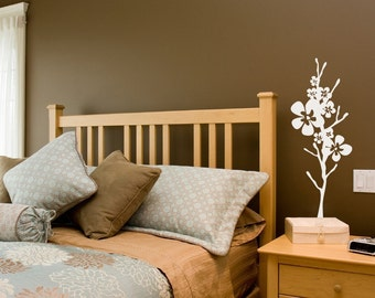 large Japanese cherry blossoms vinyl wall decal