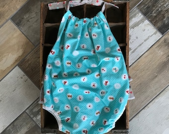 24 month Riley Blake Little Red Riding Hood romper