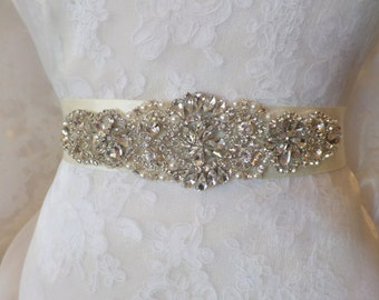 Wedding Belt, Bridal Belt, Sash, Bridal Sash, Belt, Crystal Sash, Rhinestone Belt, Wedding Belt Sash, Crystal Wedding Belt