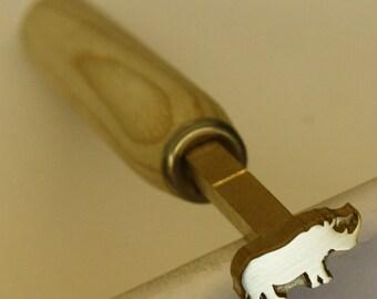 Bookbinding finishing tool (Rhino)