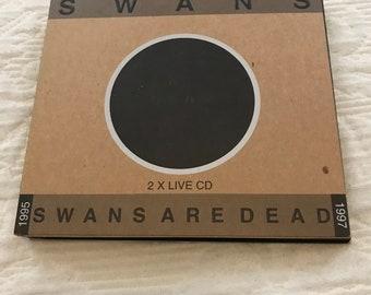 SWANS Swans Are Dead 2CD DIGI CD | Michael Gira