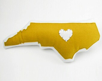 Customizable North Carolina State Pillow