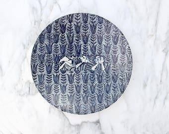Rare Danish Modern Nymolle Charger Plate By Bjorn Wiinblad DEK 151