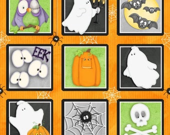 Chills and Thrills Glows in the Dark Halloween Squares
