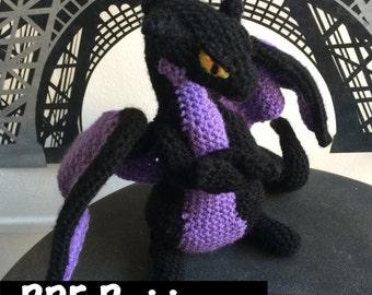 Grouchy Dragon Crochet Pattern