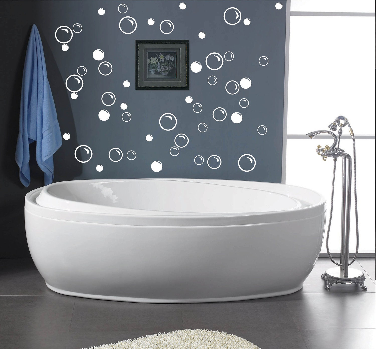 zoom 50 Large Soap Bubbles wall decals