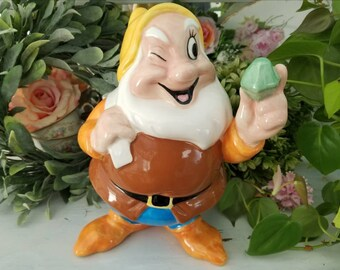 Treasure Craft Happy Dwarf Planter - TreasureCraft Snow White and the Seven Dwarfs Vase