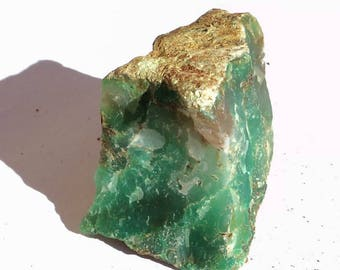 Chrysoprase of Australia, rough stone natural 107 g.