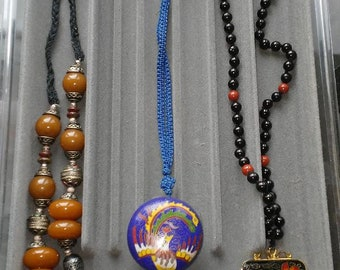 Colorful Necklaces - lot of 3
