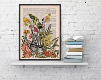 Take my hand human Anatomy Print on dictionary. Anatomy art, love human anatomy, science & anatomy  wall decor SKA063