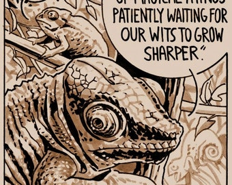 Bertrand Russell Quote: Chameleons