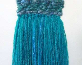 sea - woven wall hanging